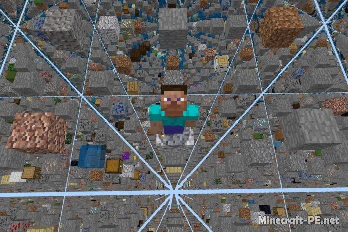Карта Advanced SkyGrid Survival (Выживание)