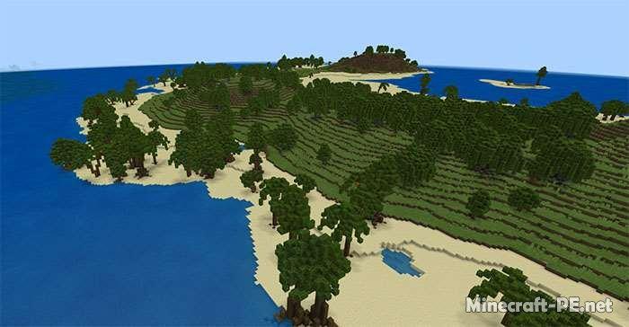 Карта SG Mexa: Tropical (Пользовательский ландшафт)