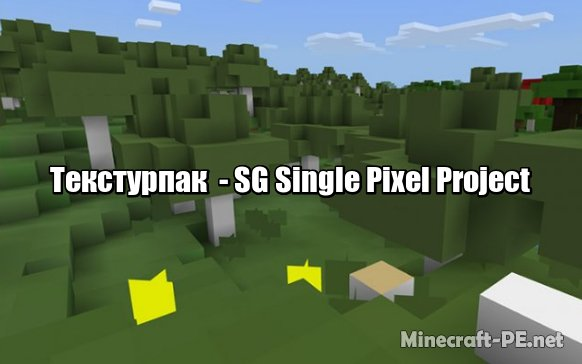 Текстуры SG Single Pixel Project [1.6] [1.5]]