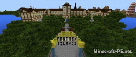 Карта Fantasy Islands (Творчество)