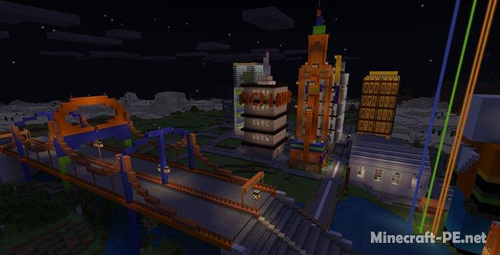 Карта Antoine City (Мини-игра)