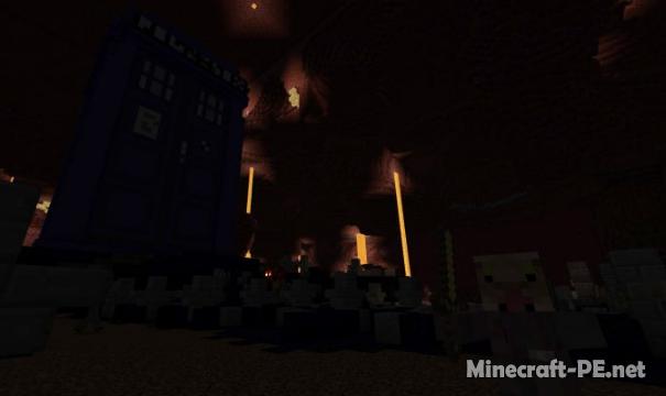 Карта Doctor Who Tardis 1.9 (Постройка)
