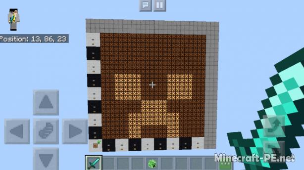 Карта Programmable Display in Minecraft Bedrock Edition 1.9 (Программируемый дисплей)