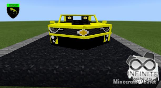 Мод Camaro ZL1 Addon 1.9/1.8 (Автомобиль в игре)