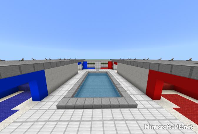 Карта fy_pool_day (Counter Strike) 1.9/1.8 (Постройка)