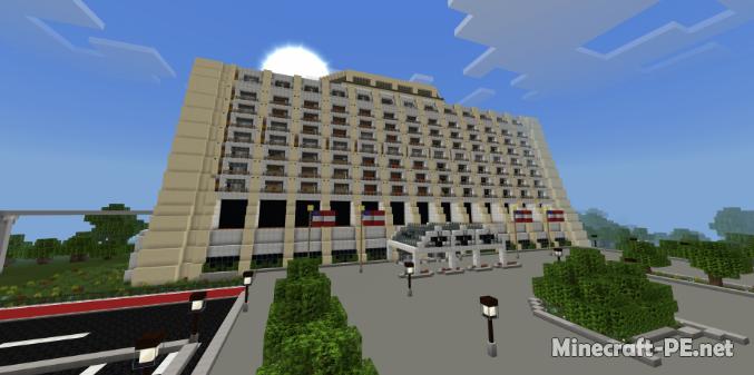 Карта Minecraft Walt Disneyworld 1.9/1.8 (Постройка)