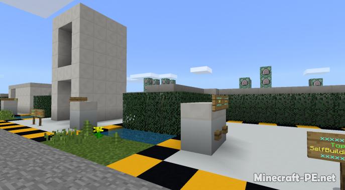 Карта Top #10 Command Block Creations 1.9/1.8 (Постройка)