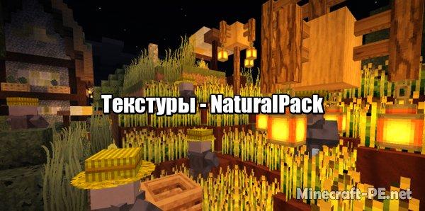 Текстуры NaturalPack 1.10/1.9 (х64)]