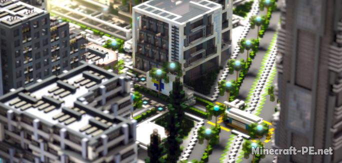 Карта UIE City   Modern City 1.11 (Постройка)
