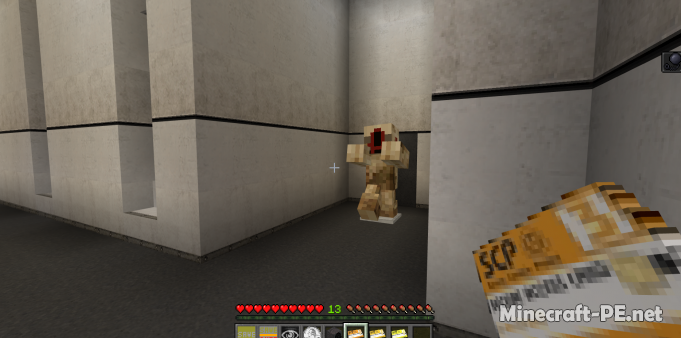 Карта SCP: Containment Breach Minecraft Bedrock Remake 1.11 (На прохождение)