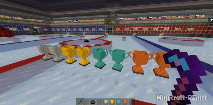 Карта Ice Hockey Minigame V2 1.12 (Мини-игра)