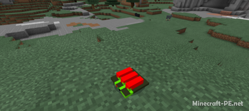 Мод Remote Bombs Addon 1.11 (Бомбы в игре)