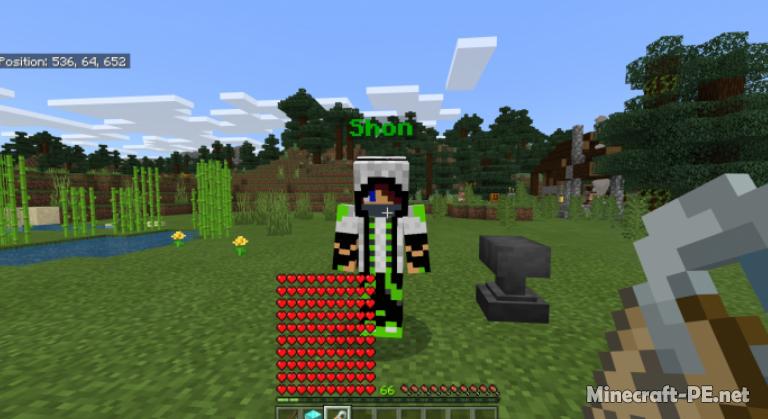 Мод OP Minecraft Addon 1.11 (Новые возможности и фичи)