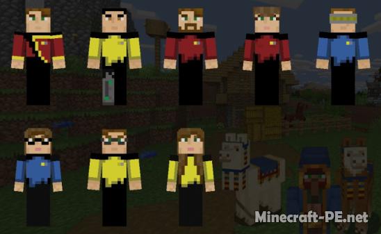 Скинпак Star Trek TNG Officers 1.11