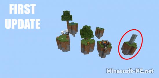 Карта Sky Islands Survival! 1.12 (Выживание)