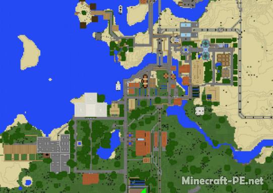 Карта Villager's Cities Union (V1) 1.12 (Постройка)