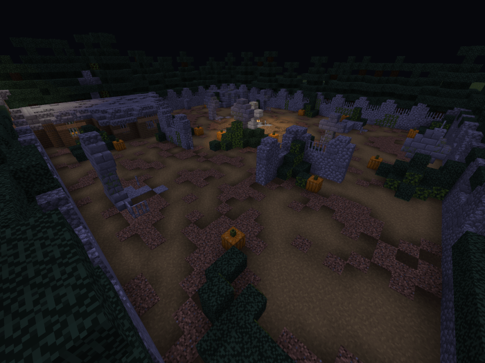 Карта KC – Graveyard Grief 1.12 (PvP)