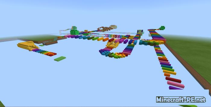 Карта Rainbow Run! 1.12-1.8 (Приключение)