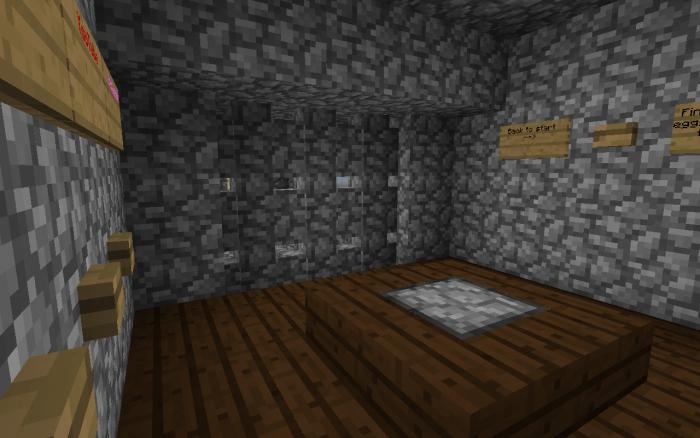 Карта MCPE Escape Room 1.14-1.11 (Головоломка)