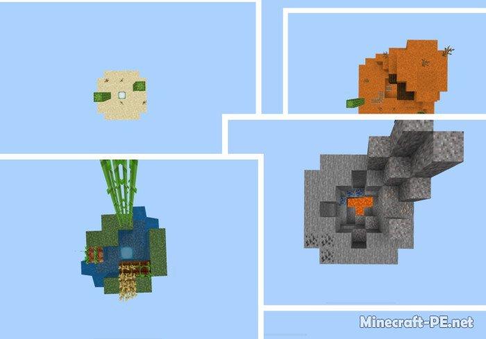 Карта Floating Block 1.14-1.12 (Выживание)