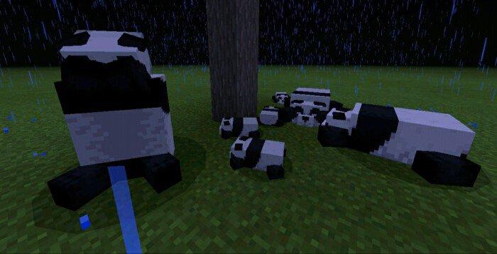 Мод BetterBears Project 1.14/1.13 (Улучшение медведей)