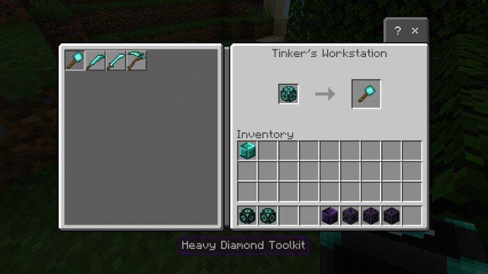 Мод Tinker's Legacy 1.14-1.12 (Новые виды оружия)