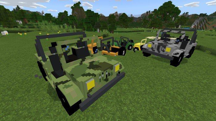 Мод Jeep! 1.13-1.11 (Джипы)