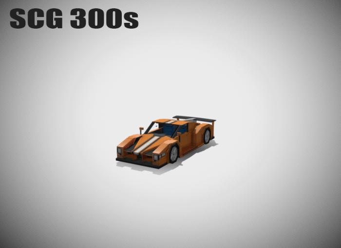 Мод Minecraft Style SCG 300s Car 1.14/1.13 (Автомобили)