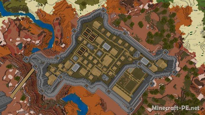 Карта Mesaville 1.14-1.12 (Много построек)