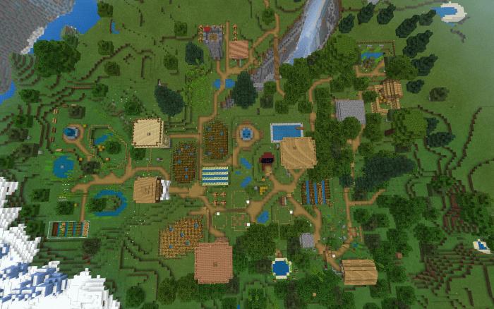 Карта FatherCraft 1.14-1.12 (Более 30+ построек)