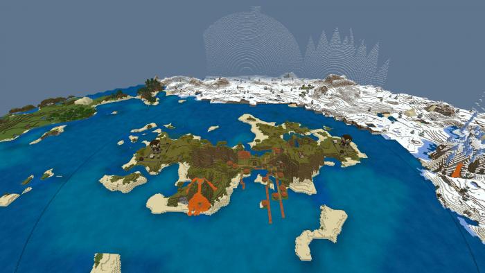 Карта Island Dome Survival 1.14-1.12 (Выживание)