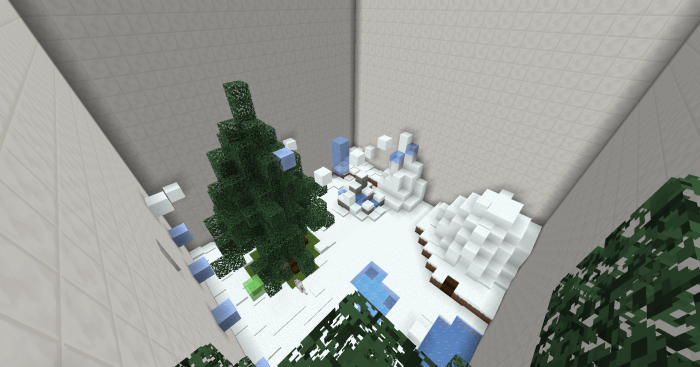 Карта Rage Biomes 1.14-1.12 (Паркур)