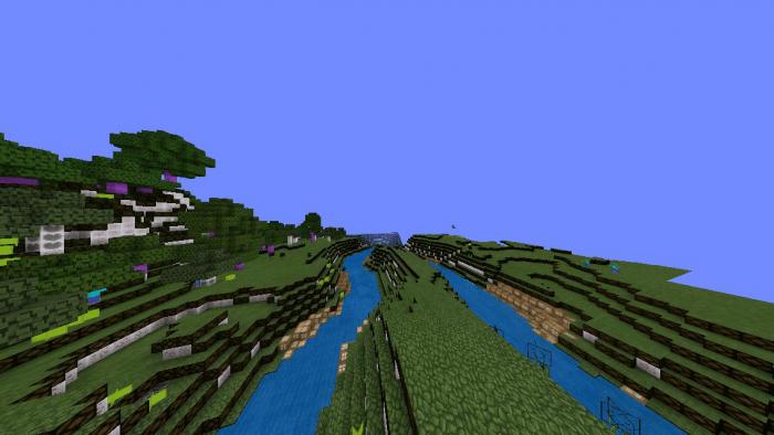 Текстуры Cursed Minecraft 1.14-1.12 (х32/x16)]