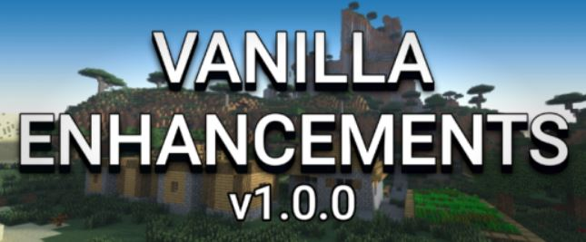 Текстуры Vanilla Enhancements 1.14/1.13 (х16/х32/x64)]