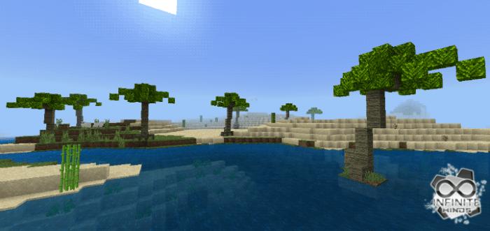 Мод Palm Trees 1.14/1.13 (Пальмы)