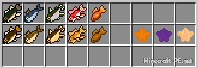 Мод Fishy 1.13-1.11 (Новые виды рыб)