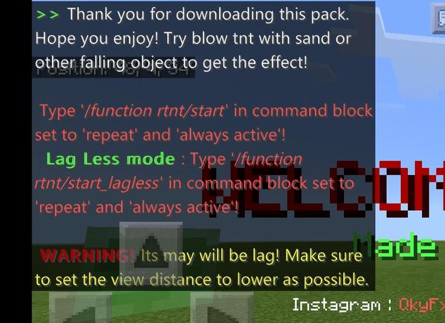 Мод Realistic Explosion 1.13/1.12 (Анимация взрывов)