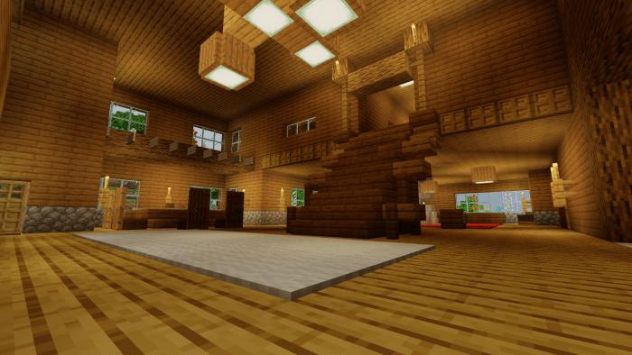 Карта Woodland Lodge 1.14/1.13 (Постройка)