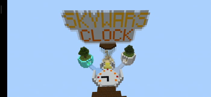 Карта SkyWars Clock 1.14/1.13 (PvP)