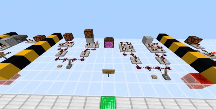 Карта 17 Redstone Techniques 1.14/1.13 (Механизмы)