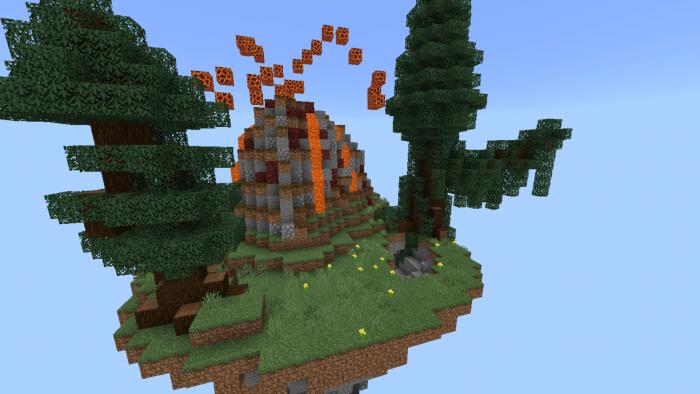 Карта New SkyBlock Village&Pillage 1.14/1.13 (Выживание)]