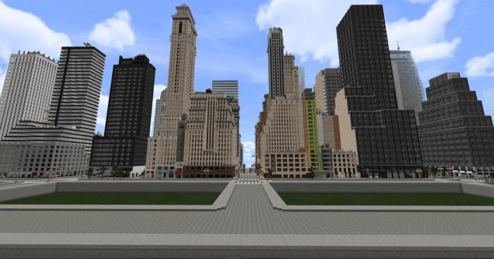 Карта Midtown Manhattan, NYC 1.10+ (Нью-Йорк)