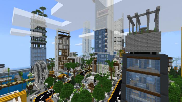 Карта Mega Metropolis Valdin City 1.14/1.13 (Постройка)