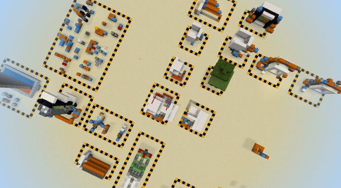 Карта RedstoneWorld 1.14 (Постройка)