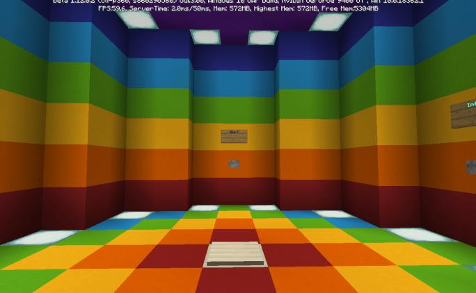 Карта Rainbow Adventure 1.14-1.10 (Головоломки)]