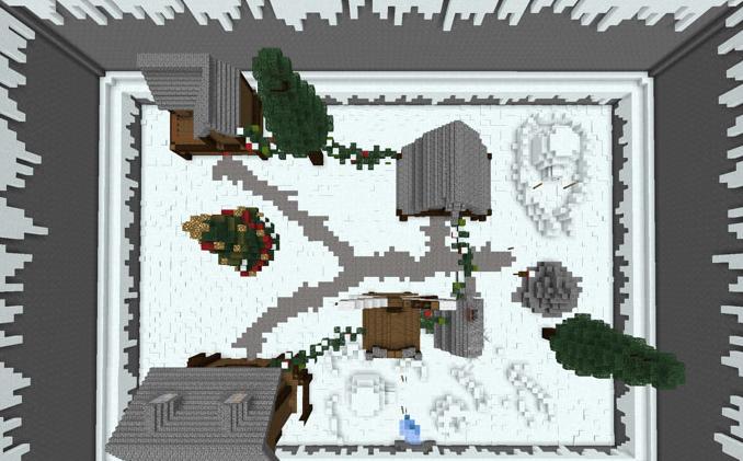Карта 12 Days of Christmas Minigames 1.14 (Мини-игра)]