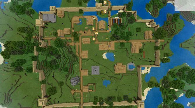 Карта Survival Village 1.14 (Выживание)]