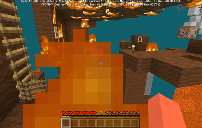 Карта Burning Animals 1.14-1.9 (Мини-игра)