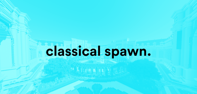 Карта Classical Spawn   Blockmatic Studios (Постройка)]