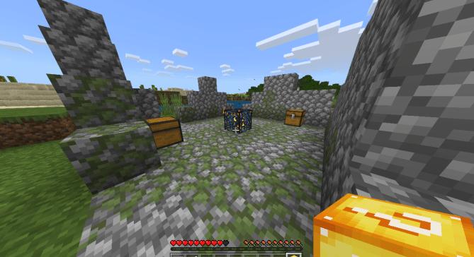 Карта Survival Lucky Blocks (Выживание)]